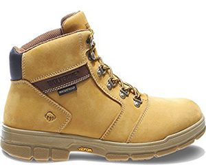 "The Best Men's Work Boots - Barkley 6"" Waterproof Work Boot by Wolverine"