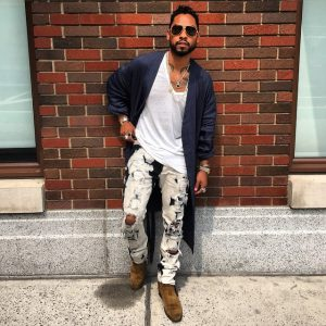 Miguel wearing Cowboy Boots