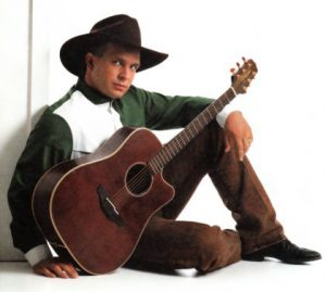 Garth Brooks Wearing Cowboy boots