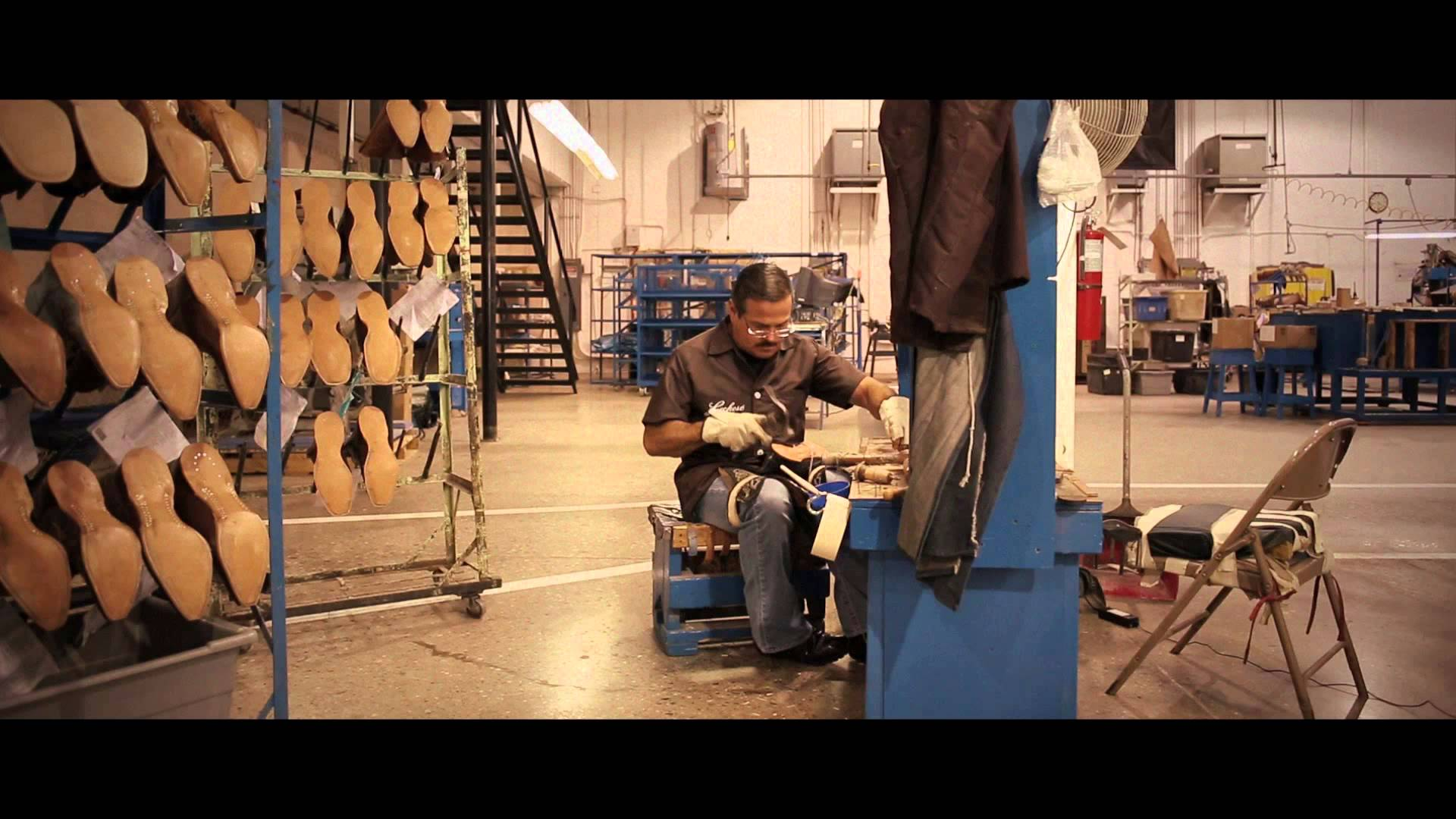 Making Lucchese Cowboy Boots