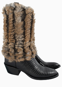 Pat Dahnke Fur Boot Toppers