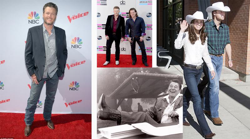 Celebrities Wearing Boots