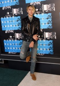 Justin Bieber Wearing Cowboy Boots
