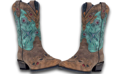 Dan Post Vintage Bluebird – Youth Cowgirl Boots