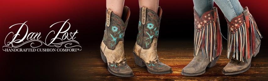 Dan Post's Handmade Women's Cowboy Boots