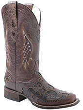 corral womens snakeinlay boots