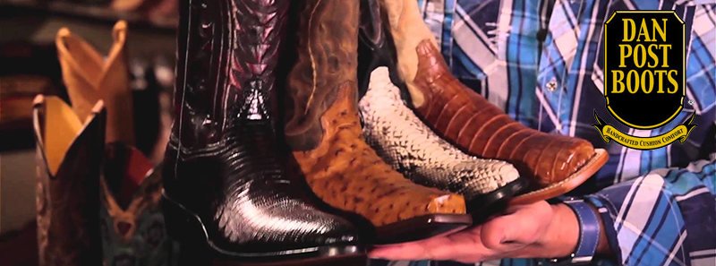 Great Selection of Dan Post Men's Cowboy Boots