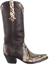 stallion snakeskin boot women