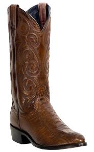 Dan Post Bellevue Ostrich Skin Exotic Skin Cowboy Boots