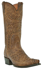 Dan Post Sidewinder Goat Skin Exotic Skin Cowboy Boots