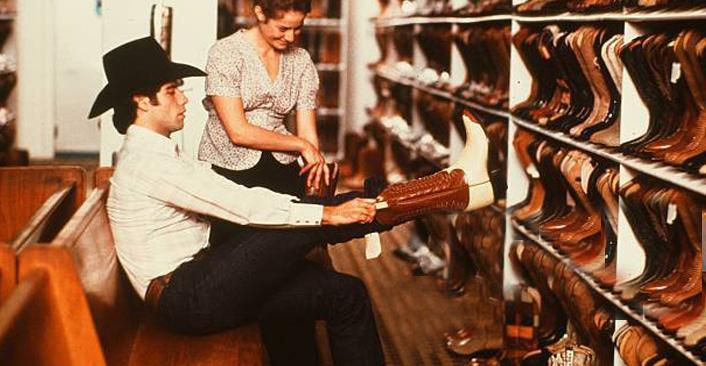 Exotic Skin Cowboy Boots John Travolta