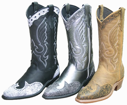 Outlet Boots Abilene Texas Star with Overlay- Womens Cowgirl Boots