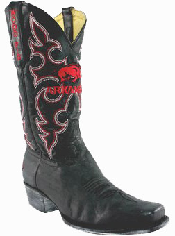 "Arkansas Razorbacks 13"" Boardroom Embroidered Boots Black"