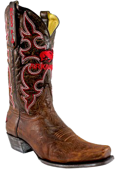 Fanatics Arkansas Razorbacks Boardroom Embroidered Men's Cowboy Boots