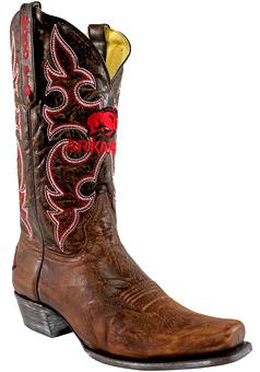 college logo cowboy boots - Fanatics Arkansas Razorbacks Boardroom Embroidered Men's Cowboy Boots