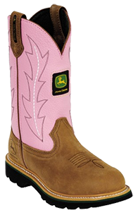 John Deere Jo-Beth Pull-On - Womens Work Boot
