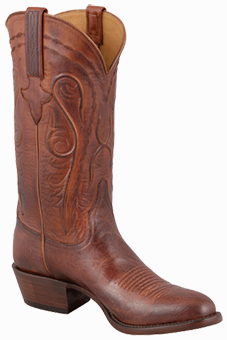 Discount Boots LUCCHESE MEN'S PEANUT BRITTLE MAD DOG GOAT BOOTS