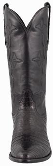 Discount Boots STALLION MEN'S BLACK SUPREME CAIMAN BOOTS