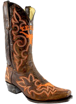 Texas Longhorns Original Men's Cowboy Boots
