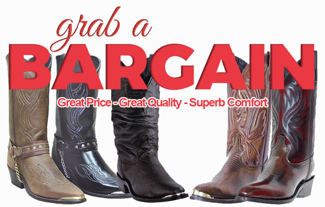 Discounted High Quality Men's Handmade Cowboy Boots