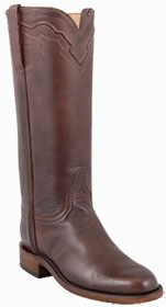 HANDMADE LUCCHESE WOMEN'S WHISKEY BABY BUFFALO ROPER BOOTS