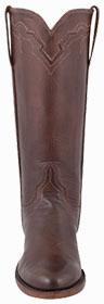 Womens Roper Cowboy Boots - HANDMADE LUCCHESE WOMEN'S WHISKEY BABY BUFFALO ROPER BOOTS