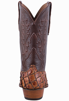 BLACK JACK EXCLUSIVE GINGER CHESTNUT PIRARUCU HANDMADE MEN'S BOOTS