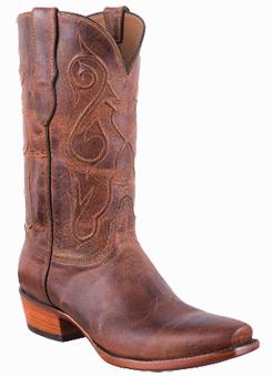 Black Jack Exclusive Peanut Mad Dog Goat Leather Handmade Boots