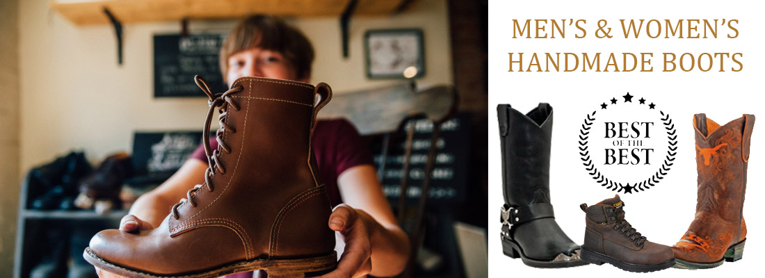 Men's Handmade Boots and Women's Handmade Boots