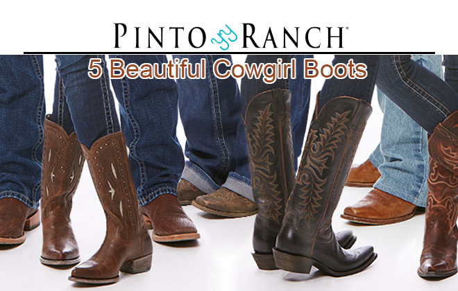 Women's Cowgirl Boots and Western Boots from Pinto Ranch