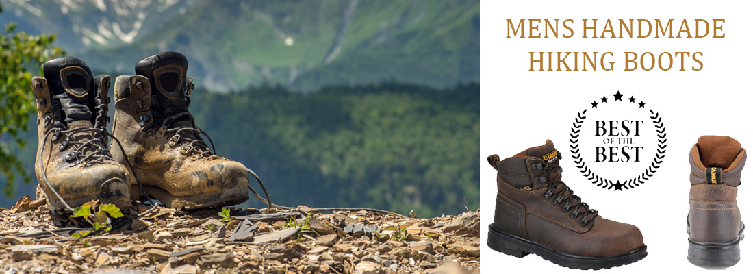 Mens Waterproof Hiking Boots and Handmade Hiking Boots