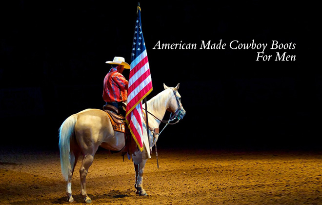 American Made Cowboy Boots Men Featured Image