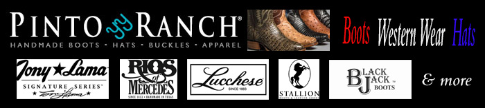 Tony Lama Cowboy Boots - Handmade Cowboy Boots at Pinto Ranch
