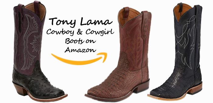 Cowboy Boots On Amazon - Tony Lama Cowboy Boots