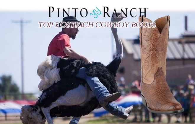 Top 5 Ostrich Cowboy Boots