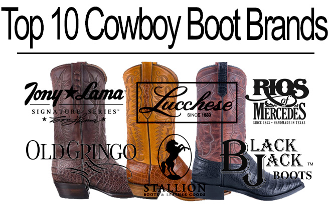 Top 10 Cowboy Boot Brands - Featured Image