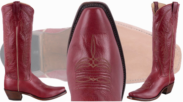 Womens Red Cowboy Boots - Rios Of Mercedes Milan