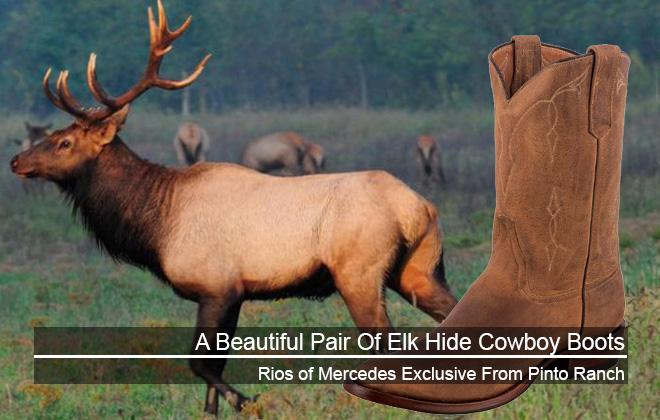 Elk Hide Cowboy Boots Featured