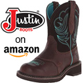 Justin Cowboy Boots on Amazon - Great Prices!